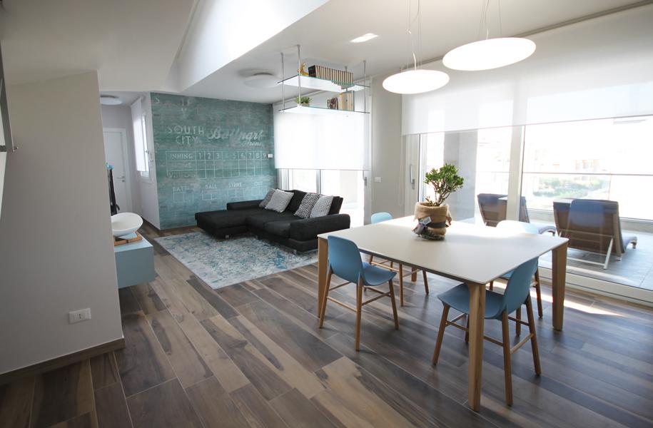 Casa stile anni 50 progettazione e sviluppo bf interni for Case stile americano interni