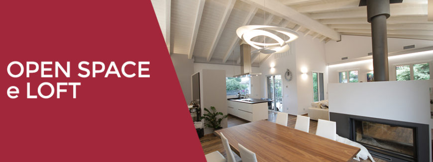 Interior designer open space e loft