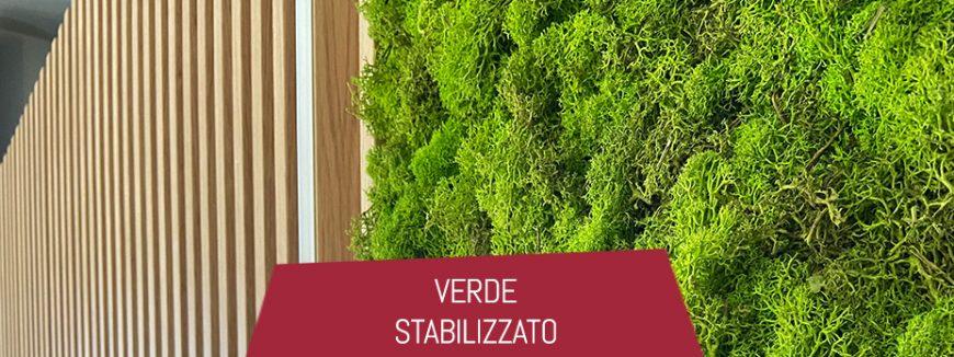 verde stabilizzato giardino verticale